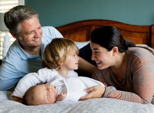 familje du vil beskytte